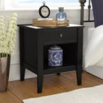 New Solid Wood Nightstand Wooden Table Closet Living Roon Furniture