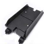 New H-type Four Wheel Thickening ABS Desktop Computer Monitor Host Bracket Removable And Adjustable With The Brake