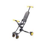 New QIXIAOBAI 2.9KG Portable Folding Aluminum Alloy Children Lightweight Cart Chair from xiaomi youpin