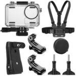 New SheIngKa 40M Waterproof Protective Case Shell Backpack Clip Chest Belt Strap Mount Harness for DJI OSMO Action Sports Camera