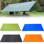 New 210x150cm Camping Picnic Pad Anit-UV Tent Tarp Rain Sunshade Hammock Shelter