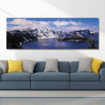 New DYC 10355 Single Spray Oil Paintings Snow Mountain Photography For Home Decoration Paintings Wall Art