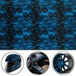 New Cool Blue Fire Hydrographic Water Transfer Film Hydro Dipping DIP Print All Car Decorations