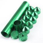 New Green 15Pcs 5/8″-24 Or 10″x1-3/4 Aluminum Fuel Trap Solvent Filter For NAPA 4003 WIX 24003
