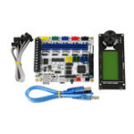 New F5 V1.2 Control Board ATMEGA 2560 Mainboard With MINI12864 mini 12864 LCD Display Kit Supports Marlin for 3D Printer DIY