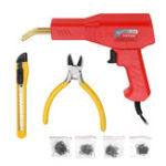 New Handy Plastic Welder Garage Tools Hot Staplers Machine Staple PVC Plastic Repairing Machine Car Bumper Repair Tool