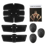 New 6pcs Electric Muscle Training Gear Abdomen Shoulder Sticker