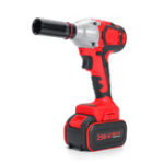 New 28000mAh Electric Wrench Power Drill Brushless Impact Wrench Socket Wrench 21V  Li Battery Hand Drill Installation Power Tools