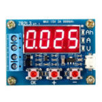 New ZB2L3 18650 Battery Capacity Tester External Load Discharge Type 1.2-12V Tester with Two 7.5 Resistors
