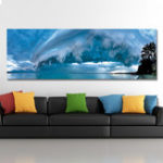 New DYC 10538 Single Spray Oil Paintings Photography Seaside Landscape For Home Decoration Paintings Wall Art