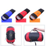 New 1800g Winter White Duck Down Single Sleeping Bag Warm Lightweight Outdoor Camping Sleeping Bag-Orange/Red/Blue
