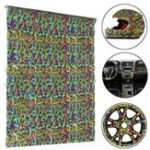 New 50x100cm Butterfly Printing Water Transfer Film Hydrographics Hydro Decorations