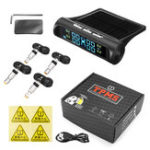 New Car Solar TPMS Tire Pressure Monitor External Sensor or Internal Sensor