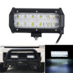 New  6D LED 36W 6000K Work Light Spot Beam Boat Truck Offroad 4WD SUV White Lamp IP67