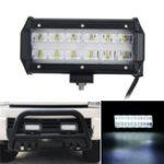 New  6D LED 36W 6000K Work Light Spot Beam Boat Truck Offroad 4WD SUV White Lamp IP67