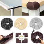 New Baby Safety Desk Edge Bumper Cover Protector Table Cushion 2M Edge + 4 Corner