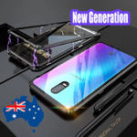 New Bakeey Upgraded Version 360º Full Body Tempered Glass Metal Magnetic Adsorption Flip Protective Case For Oppo R17/ R17 Pro