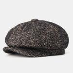 New Visor Newsboy Beret Caps Outdoor Casual Cabbie Ivy Flat Hat