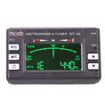 New Zebra MT-40/40W LCD Digital Clip-on Electric Guitar Metronome Tuner