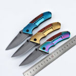 New LAOTIE F81 210mm Stainless Steel Folding Knife Outdoor Survival Tools Kit Hiking Climbing Multifunctional Knife