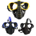 New Adults Full Face Dry Anti-fog Snorkeling Diving Mask