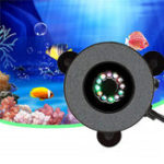 New 12 LED Submersible Aquarium Bubble Light Air Stone Fish Tank Pump Lamp Remote Control