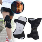 New 1 Pair Spring Knee Support Patella Booster Adjustable Joint Brace Pad Sports Training Protector