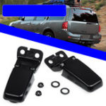 New Left & Right Rear Tailgate Window Glass Hinge Set For Nissan Armada 2004-2015