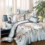 New 4 PCS 3D Floral Flower Twin Queen Size Bedding Pillowcase Quilt Duvet Cover Set Bedding Sets