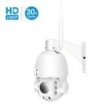 New Besder 30XB HD1080P 30X Zoom PTZ Auto Focus Waterproof Wireless IP Camera Full Color Night Vision M-otion Detection Baby Monitors