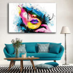 New Hand Painted Oil Paintings People Modern Stretched On Canvas Wall Art For Home Decoration
