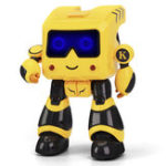 New JJRC R17 KAQI-TOTO Intelligent Programmable Touch Control Coin Saving Sing Dance Smart RC Robot Toy