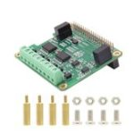 New RS485 & CAN Shield Expansion Board for Raspberry Pi 4 Model B/3B+/3B/2B/Zero/Zero W