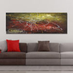 New DYC 10796 Single Spray Oil Paintings Fashion Abstract Painting For Home Decoration Paintings Wall Art
