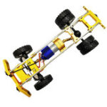 New 1/10 Upgraded Metal RC Car Chassis Unassembled Kit for Off-Road Truck Vehicles DIY Parts