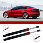 New Corrosion Resistant Automatic Trunk Lift Tail Strut Bar Interior Mouldings For Tesla Model 3