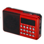 New Mini Portable LCD Digital FM Radio Speaker USB TF AUX MP3 Music Player