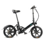 New              [EU Direct] FIIDO D3S Shifting Version 7.8Ah 36V 300W 16 Inches Folding Moped Bicycle 25km/h Max 60KM Mileage Electric Bike