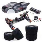 New              ZD Racing 9021 V3 1/8 4WD 80km/h Brushless RC Car Frame Kit without Electronic Parts