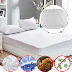 New              Anti Dust Mite Mattress Protector Cover Breathable Fitted Bed Sheet Waterproof Furniture Waterproof Cover
