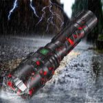 New              XANES 3320 P50 XHP50 1800Lumens USB Rechargeable LED Flashlight With 26650 Battery