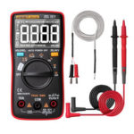 New              ANENG AN113D Intelligent  Auto Measure True- RMS Digital Multimeter 6000 Counts Resistance Diode Continuity Tester Temperature AC/DC Voltage Current Meter Upgraded from AN8002