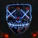 New              Halloween Horror Cold Light Mask