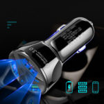 New              3 Holes USB Car Charger Stable Charging Intelligent Shunt Speed Up 60% 12-32V