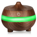 New              300ml Essential Oil Diffuser Air Humidifier with 7 Color Lights USB Aromatherapy Diffuser with Auto Shut-off Function Cool Mist Humidifier