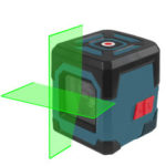 New              HANMATEK LV1G Laser Level Green Cross Line Laser with Measuring Range 50ft, Self-Leveling Vertical and Horizontal Line