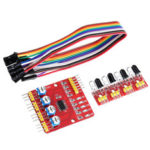 New              4CH Channel Infrared Tracing Module Patrol Four-way Sensor For Car Robot Obstacle Avoidance