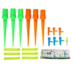 New              6Pcs Automatic Watering Irrigation Spikes Garden Plant Flower Bottle Sprinkler Drip Irrigation System
