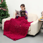New              100x150cm Handmade Knitted Blanket Cotton Soft Washable Lint-free Throw Blankets