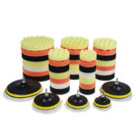 New              10pcs 3/4/5/6/7 Inch Buffing Waxing Polishing Sponge Pads Kit Set for Car Polisher Drill